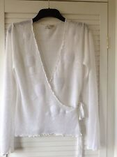 Laura Ashley knitted linen top L