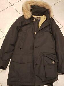 Woolrich arctic parka uomo nero Tg S