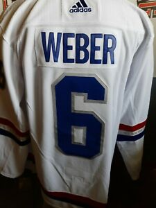 MONTREAL CANADIENS SHEA WEBER NHL 100 CLASSIC AUTHENTIC ADIDAS JERSEY BNWT NHL