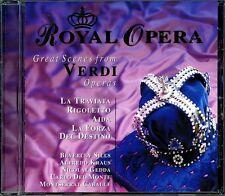 VERDI: GREAT SCENES FROM OPERAS – CD (1997) BEVERLEY SILLS, NICOLAI GEDDA ETC