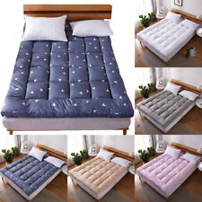 Mattress Pad Cover Bed Topper Protector Pillow Top Quilted King Queen Full Size