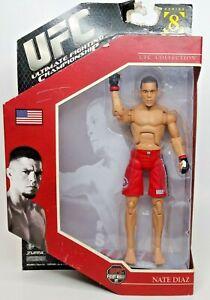 NEW UFC Ultimate Fighting Championship Jakks Exclusive Series 8 Nate Diaz Figure