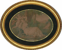 20th Century - Oval Vintage Style Picture Frame