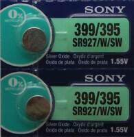 2 Pk 395 Sony Watch Battery SR927W 395/399 SR927SW