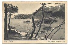 toulon  port jean à travers les pins