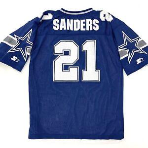 Vtg Deion Sanders Dallas Cowboys REVERSIBLE Starter NFL Football Jersey XL / 52