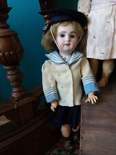 ancienne poupée Sfbj 230 Jumeau en costume de marin antique doll Jumeau