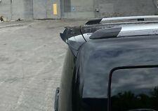 Heck Spoiler Aufsatz Abrisskante für VW Caddy Mk. 4 Carbon Look