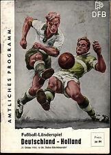 Länderspiel 21.10.1959 Deutschland - Holland in Köln