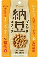 Kanro, Freeze Dried Crispy Natto, Soy Sauce Flavor, 18g, Japan