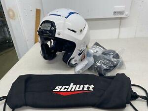 Schutt F7 VTD Pro Helmet - White - Medium