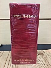 Dolce & Gabbana Classic Original Women Perfume EDT Spray 3.3 3.4 oz Red NIB Sel