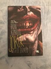 JOKER GRAPHIC NOVEL BY BRIAN AZZARELLO SEE MY OTHER JOKER RELATED ITEMS