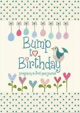 Bump to Birthday, Pregnancy & First Year Baby Journal (American English version)