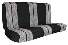 Universal Black Blanket Pick up Truck Bench Seat Covers Fits Ford,Chevy,Dodge