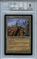MTG Tempest Wasteland BGS 9.0 (9)  Mint Card  0405