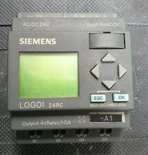 SIEMENS LOGO 24RC PLC CONTROLLER (IN38S3B3)