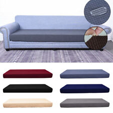 1-4 Seats Stretchy Protector Fabric Cushion Cover Slipcovers Sofa Seat New