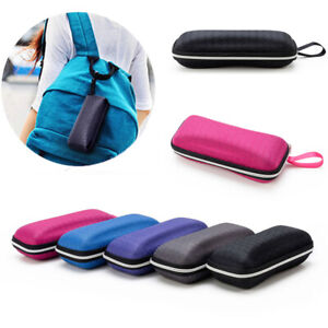 Glasses Storage Case Carry Box Eyewear Zipper Bag Sunglasses Protector Holder #w
