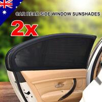 2x Car Sun Shade Rear Side Seat Window Socks Sox Baby Kids Protection Universal