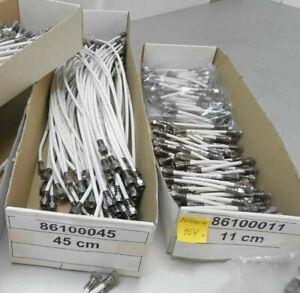 1x F-/Sat-Patchkabel CABELCON Patch-Jumper-Kabel für Telestar Digibit R1