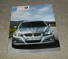 BMW SERIE 3 opuscolo di E90 2009 320i 325i 335i 318d 320d 325d 330d 335d M Sport