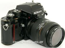 Nikon F3 - LEGENDARY 35mm SLR Film Camera + Nikon AF Nikkor 28-70mm