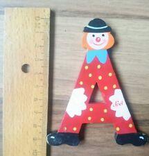 Kinderzimmer Holz Buchstabe A von LEVI Clown gebraucht