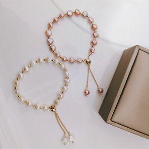 Freshwater Pearl Bracelet Korean Style Stylish Simple and Versatile Bracelet