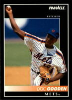 1992 PINNACLE BASEBALL CARD OF DOC GOODEN OF THE METS- CARD  #111