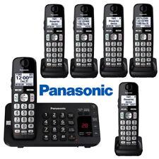Panasonic 6 Cordless Handsets Phone System DECT 6.0 TAD KX-TGE445B KX-TGEA40B1