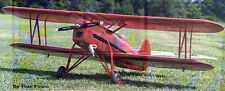 Sport  Scale WACO ENF    Giant Scale RC AIrplane Printed Plans & Templates