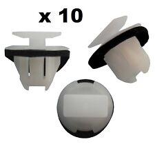 10 x EXTERIOR PLASTIC FENDER WHEEL ARCH MOULDING TRIM CLIPS fits NISSAN JUKE