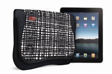 BuiltNY CityGrid Sleeve Hülle Tasche Schwarz Etui für Apple iPad 9.7 (2018)