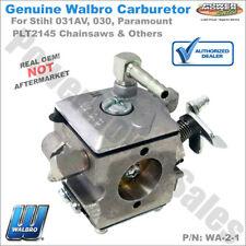 Walbro Carburetor Wa-2-1 / Stihl 031Av 030 Paramount Plt2145 Chainsaws & Others