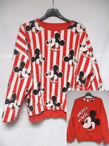 Sweat MICKEY MOUSE vintage Walt Disney Company 1986 shirt trikot années 80 M