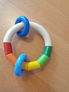 Haba Greifring Greifling Ring Motorik Holzspielzeug