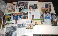 GIORGIO CHINAGLIA 1982/96 Guerin Sportivo lot 40 clippings - 40 pag articoli