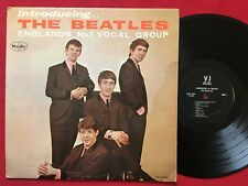 INTRODUCING THE BEATLES (1964) ORIG MONO LP BLACK VEE-JAY VJLP 1062 DEEP GROOVE