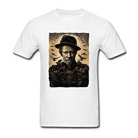 Fashion Tom Waits Smoke Art Men Music Funny T-Shirt