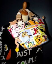 CASTELBAJAC SAC POP ART TOY AND TOY ROCKET MARS PORTé MAIN