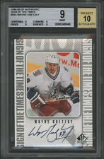1998-99 SIGN OF THE TIMES SOTT SP AUTO WAYNE GRETZKY BGS BECKETT PRISTINE 10 SIG