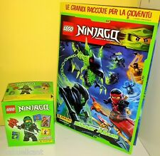 ALBUM VUOTO + BOX PANINI LEGO NINJAGO figurine packets 50 bustine DISPLAY tuten