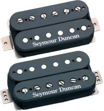 Seymour Duncan F-Spaced Hot Rodded Humbucker Set: SH-2n + TB-4 JB Bridge, Black
