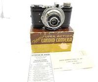 RARE VINTAGE FALCON SUPER ACTION CANDID C-1 CAMERA w/FALCON 50mm f4.5 lens
