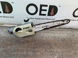 """Stihl HT FS Pole Saw Gear Head OEM Cutter Attachment 14"""" Bar / Chain KM FastShip"""