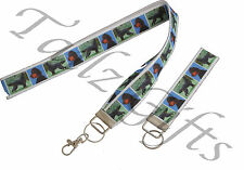 More details for gordon setter breed of dog matching lanyard | keyring key ring | bookmark
