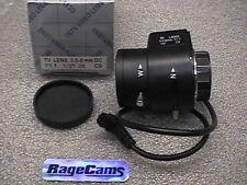 Infrared CS TV Lens 3.5-8mm DC Auto Iris IR Coated f1.1