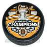 Gregory Campbell Boston Bruins Signed Stanley Cup Champions hockey puck