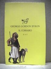 IL CORSARO George Gordon Byron Pref Michela A Calderaro Edizioni Studio Tesi di